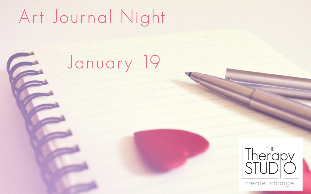 January Art Journal Night